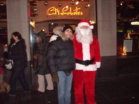 me-and-santa-claus