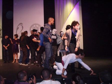 Samir gala nominaciones Casandra 2008 con grupo pop y/o rock