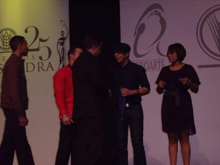Samir gala nominaciones Casandra 2008 2009