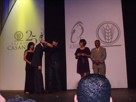 Samir gala de nominaciones Casandra 2008 2009 artista destacado en el extranjero Quico Rizek